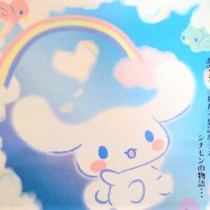 【ふわふわシナモロール展】防府市アスピラートで開催・限定グッズ販売も登場!